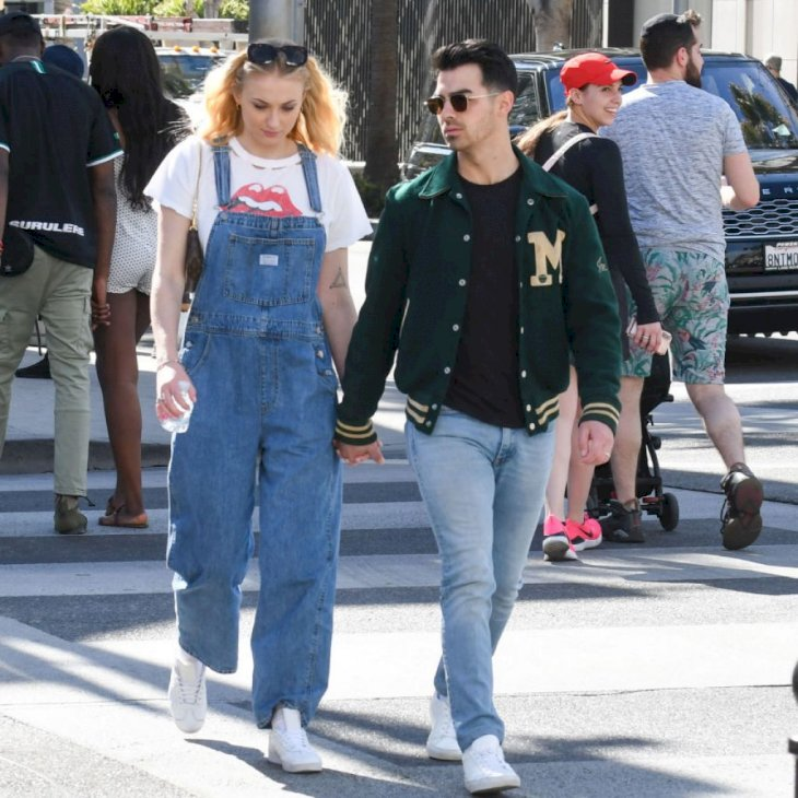 LOS ANGELES, CA - FEBRUARY 28: Sophie Turner and Joe Jonas are seen on February 28, 2020 in Los Angeles, California. (Photo by BG002/Bauer-Griffin/GC Images)