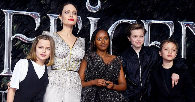 This Is What Angelina Jolie Thinks of Her Daughter Zahara