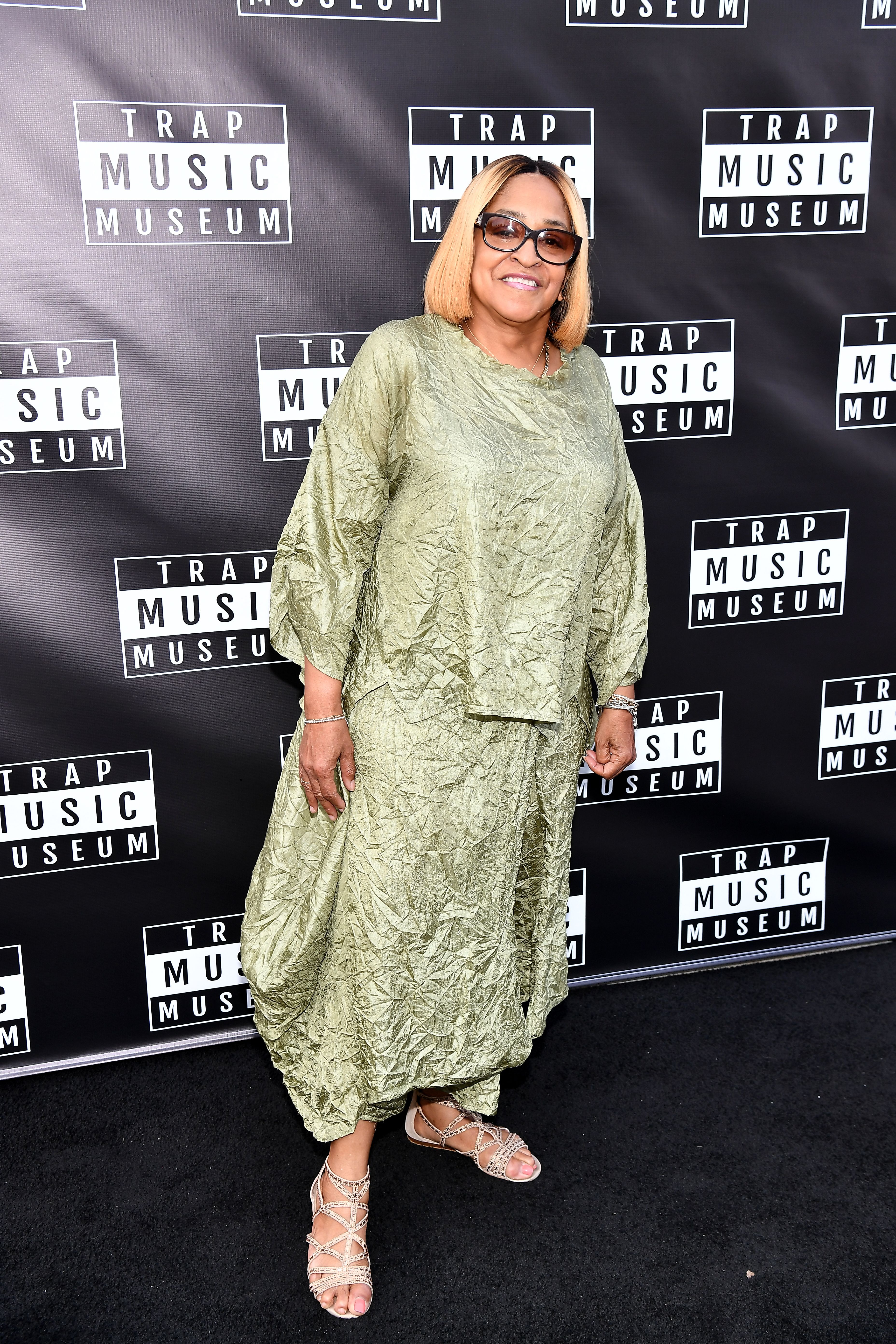 T.I's sister Precious Harris at the Trap Music Museum attending the Trap Music Museum VIP Preview on 29 September 2018 in Atlanta, Georgia. │Photo: Getty Images
