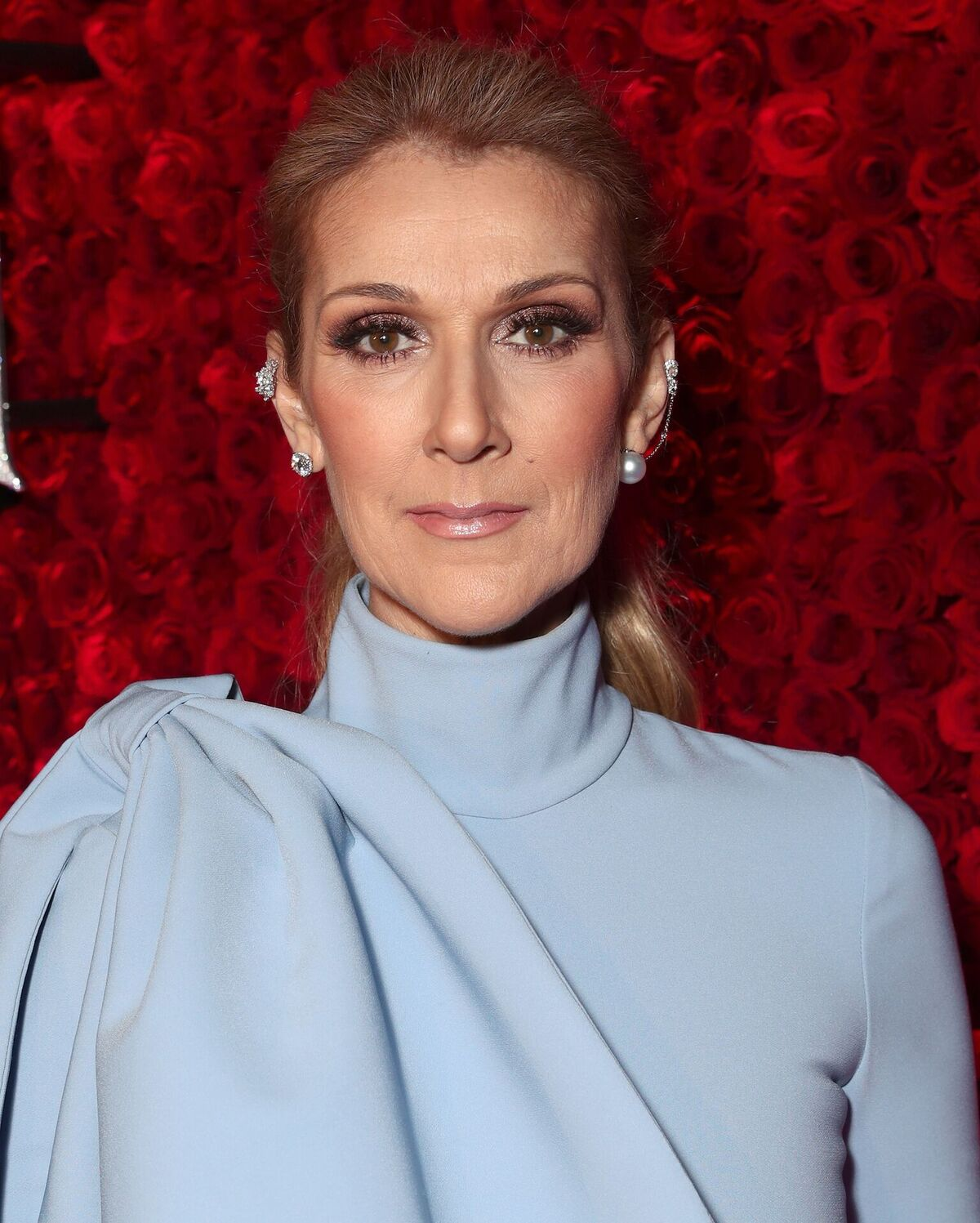 "Celine Dion attends the premiere of Disney's ""Beauty And The Beast"" at El Capitan Theatre on March 2, 2017 in Los Angeles, California 