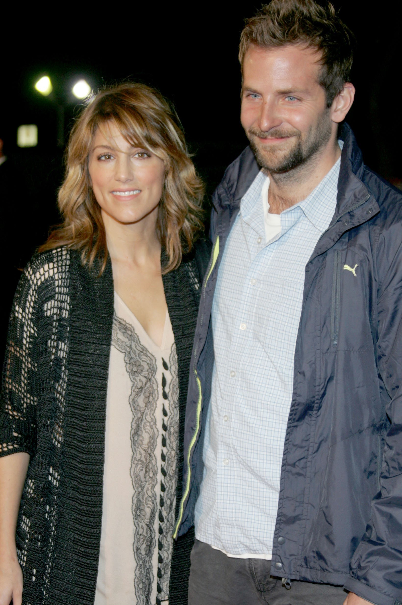Jennifer Esposito and Bradley Cooper attending the Paramount Vantage premiere of 'Babel' in 2014 | Photo: Getty Images