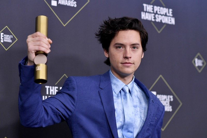 Cole Sprouse on November 10, 2019 in Santa Monica, California   Photo: Getty Images