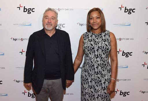 Robert De Niro and Grace Hightower at Annual Charity Day on September 12, 2016 in New York City. | Source: Getty Images