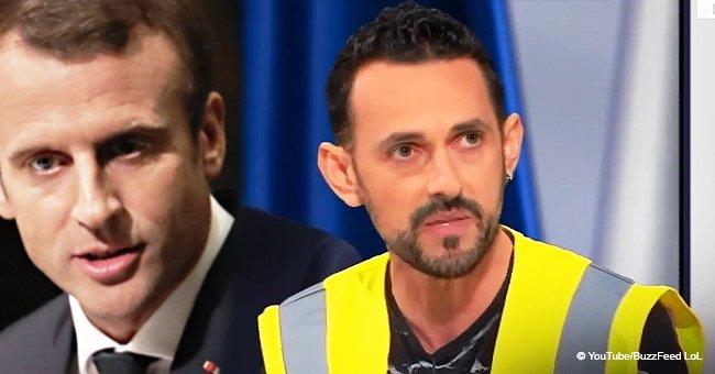 """""""On est là pour tous les pauvres"""" : un gilet jaune a dit ce que Macron devrait faire pour arrêter le mouvement"""