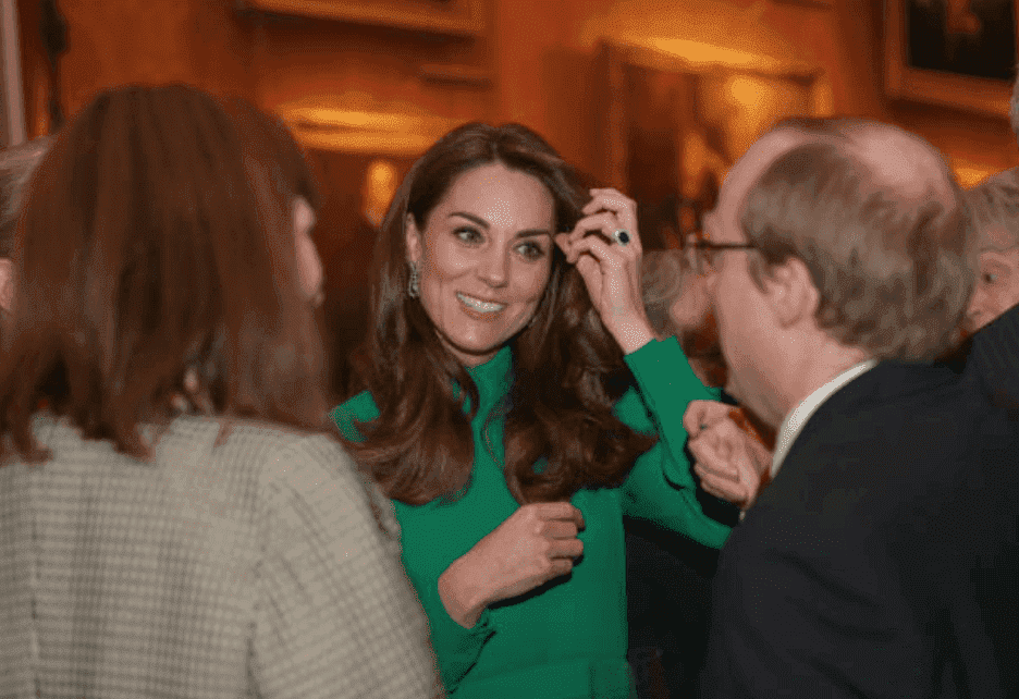 Kate Middleton mingles with world leaders at a reception for NATO 70th anniversary, hosted by Queen Elizabeth II at Buckingham Palace, on December 3, 2019 in London, England. | Source: Yui Mok - WPA Pool/Getty Images.