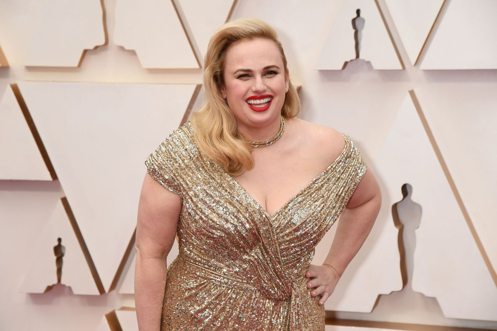 Rebel Wilson at the 92nd Annual Academy Awards at Hollywood and Highland on February 09, 2020 in Hollywood, California | Photo: Getty Images