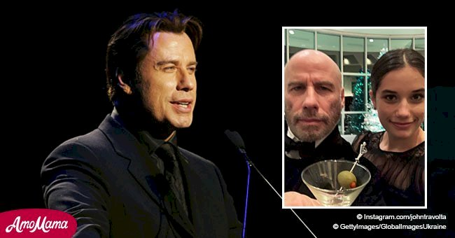 John Travolta entered the New Year with an unexpected brand new look