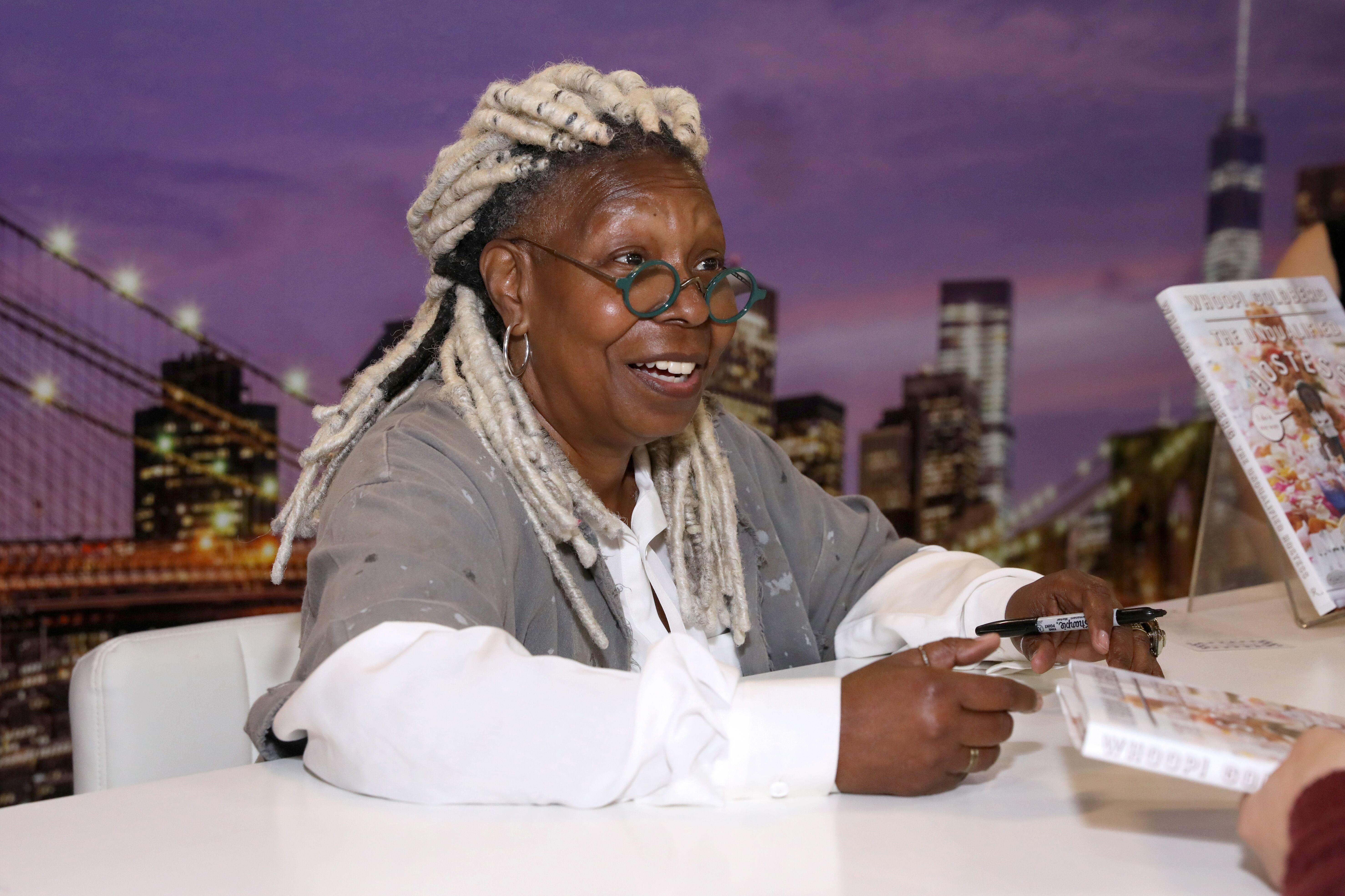Whoopi Goldberg participates in book signing on October 13, 2019 in New York CIty | Source: Getty Images