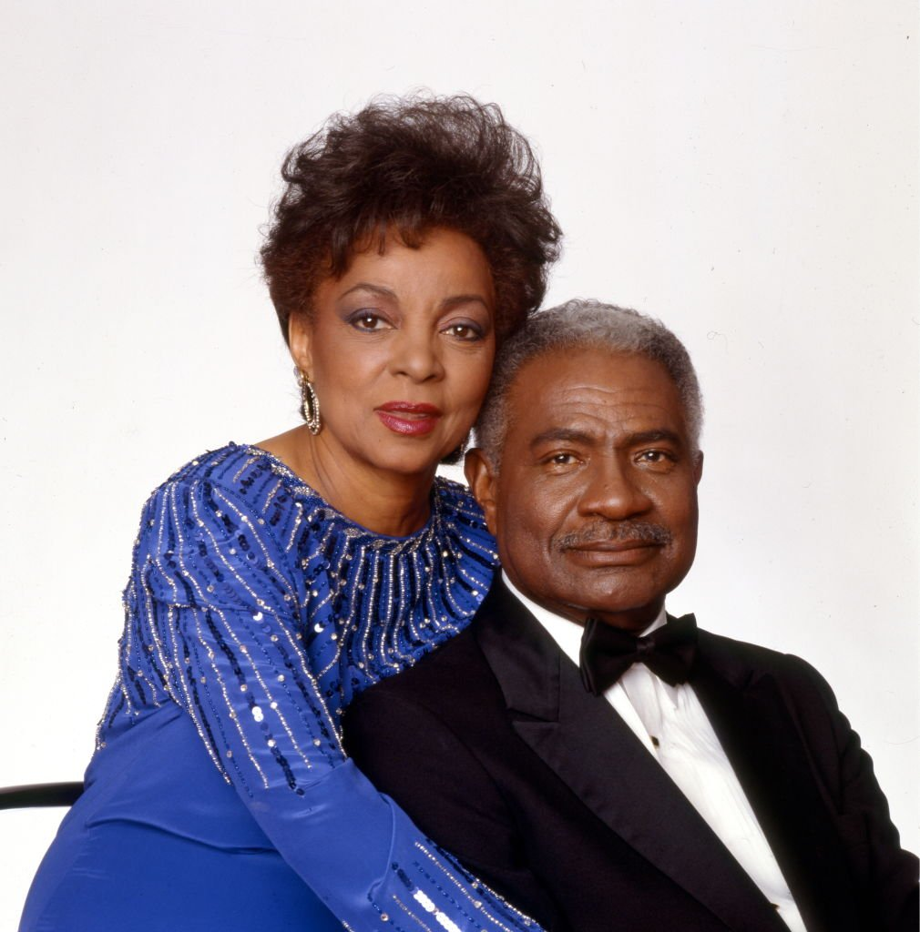 Portrait of actress Ruby Dee and her husband, fellow actor Ossie Davis New York, 1991. | Photo: Getty Images