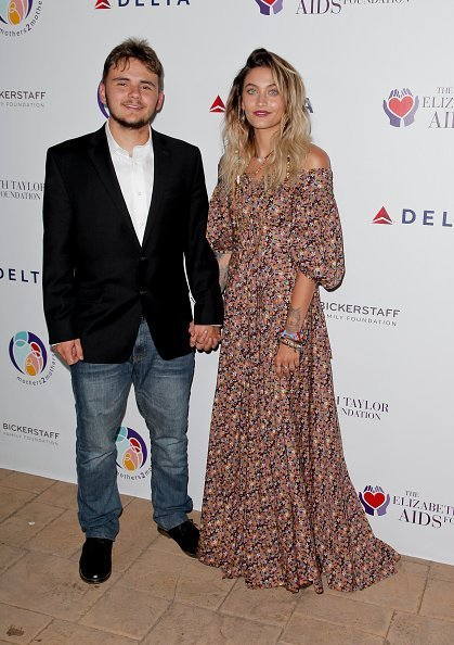 Prince Jackson and Paris Jackson at The Elizabeth Taylor AIDS Foundation on October 24, 2017 | Photo: Getty Images