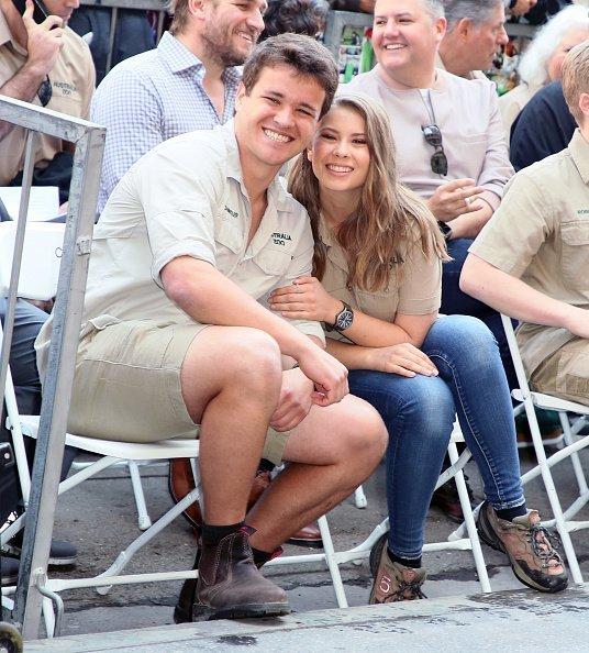 Chandler Powell, Bindi Irwin, Hollywood, Kalifornien, 2018   Quelle: Getty Images