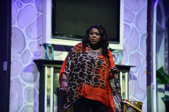 """Shirley Murdock performs at the """"Momma's Boy"""" stage play 