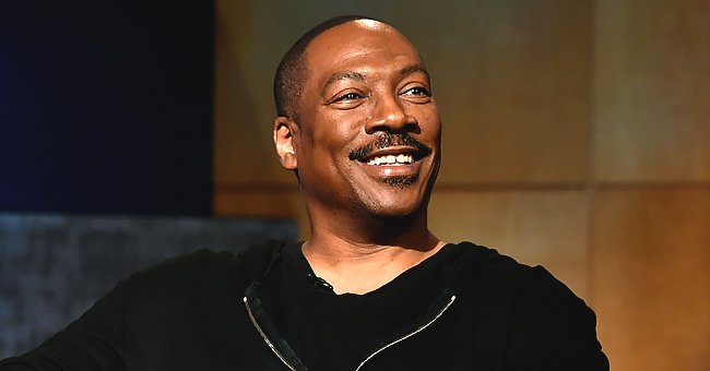Check Out These Cute Family Pics as Eddie Murphy's Granddaughter Evie Poses with Her Grandfather
