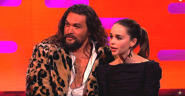 Jason Momoa Says He Visits 'Game of Thrones' Wife Emilia Clarke Whenever He's in the UK