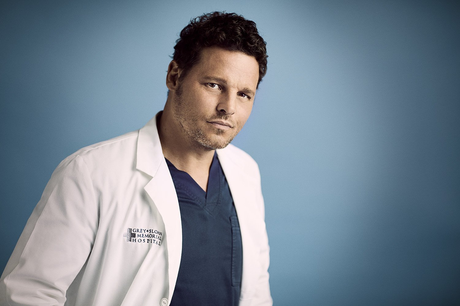 """ABC's """"Grey's Anatomy"""" star Justin Chambers as Alex Karev. 