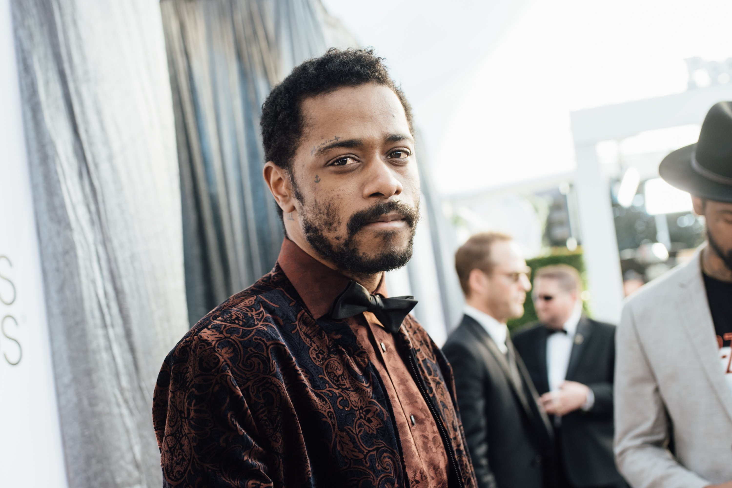Lakeith Stanfield arrives at the 25th annual Screen Actors Guild Awards on January 27, 2019 in Los Angeles, California. | Source: Getty Images