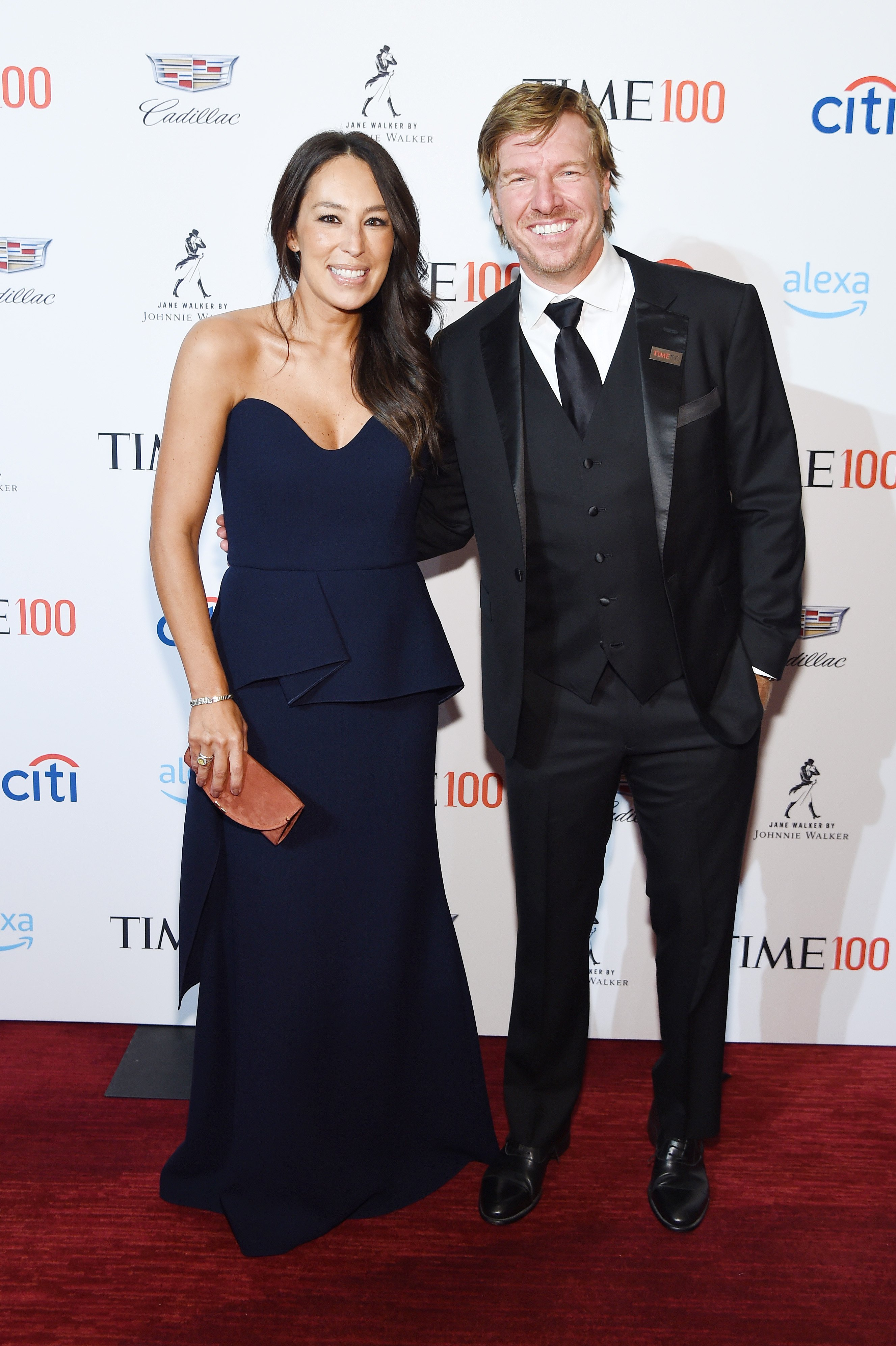 Joanna Gaines and Chip Gaines attend the TIME 100 Gala 2019 Cocktails at Jazz at Lincoln Center on April 23, 2019 in New York City | Photo: GettyImages