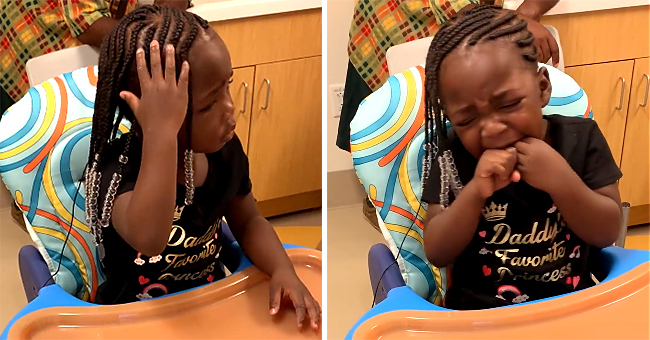 Deaf Florida Toddler Q'ela Pierce Bursts into Tears after Hearing Parents' Voice for the 1st Time in Viral Video