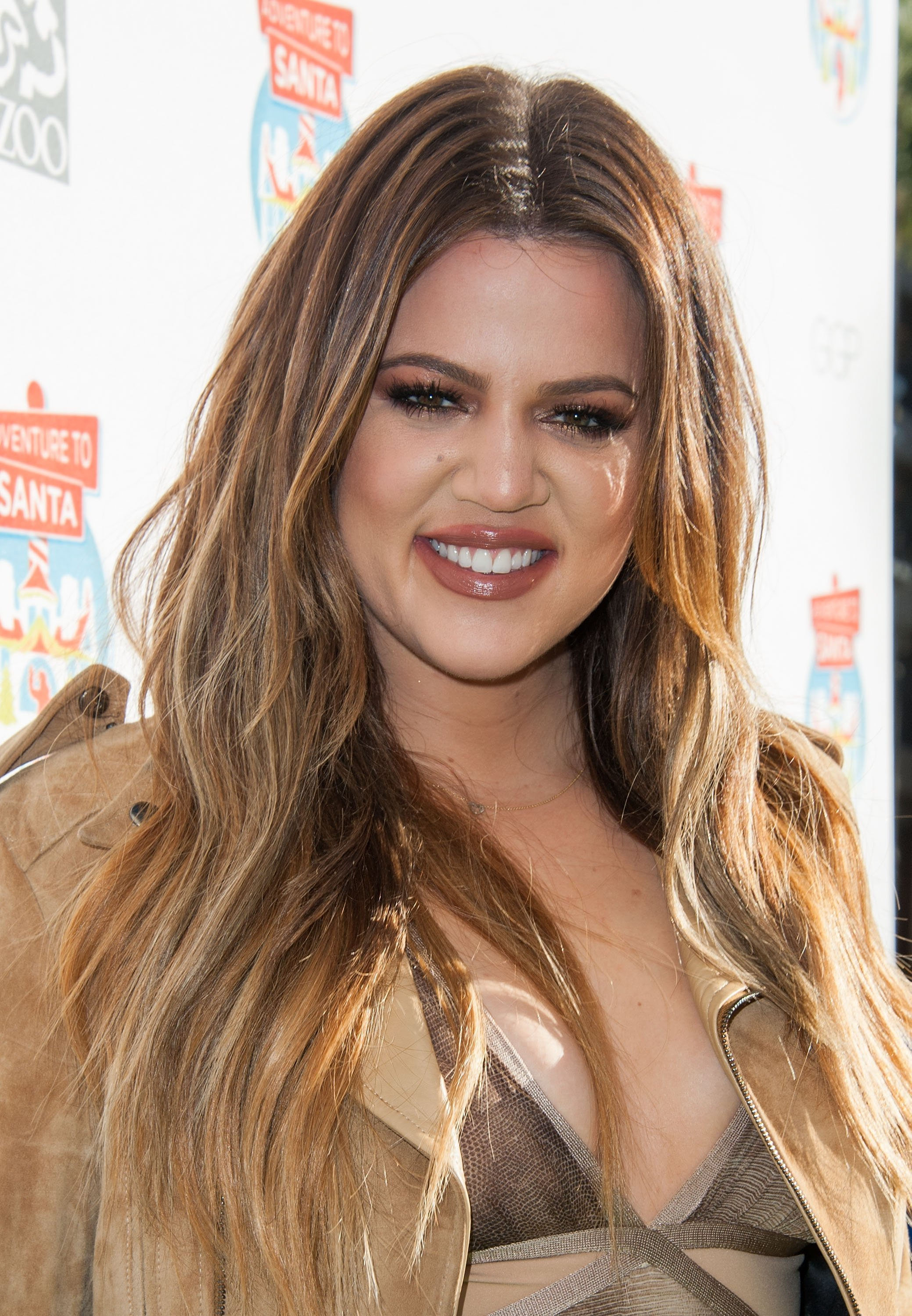 Khloe Kardashian arrives at Adventure To Santa A DreamWorks DreamPlace Santa Adventure on November 6, 2014. | Source: Getty Images