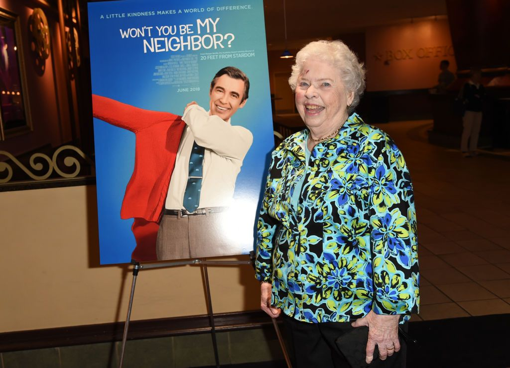 """Joanne Rogers at a special screening of """"Won't You Be My Neighbor?"""" on May 23, 2018   Photo: Getty Images"""