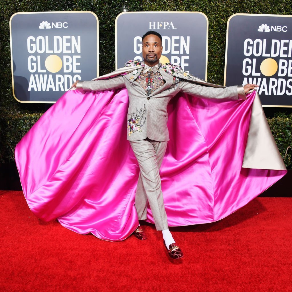 Billy Porter at the 2019 Golden Globe awards | Photo: Getty Images