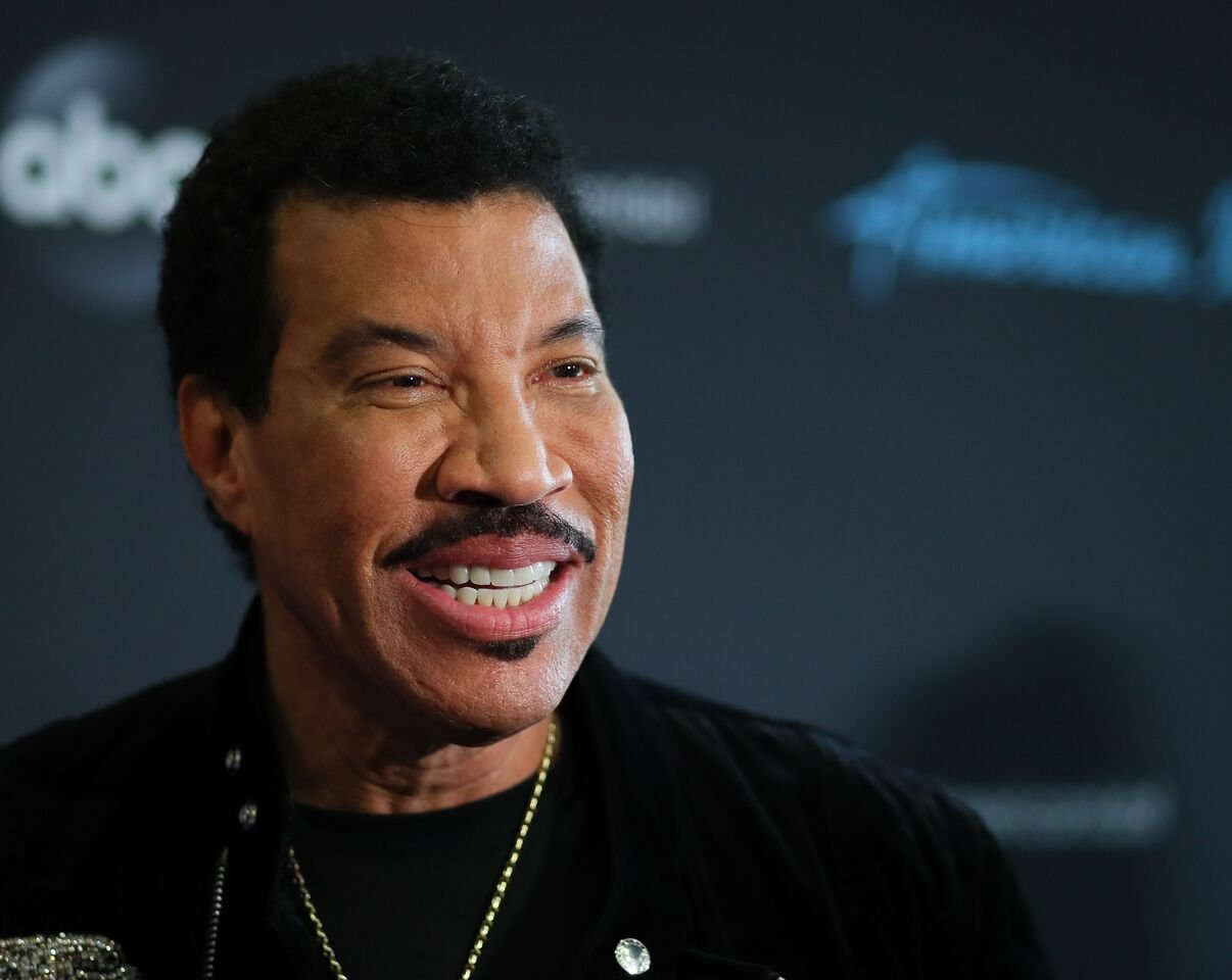 "Lionel Richie attends the taping of ABC's ""American Idol."" 