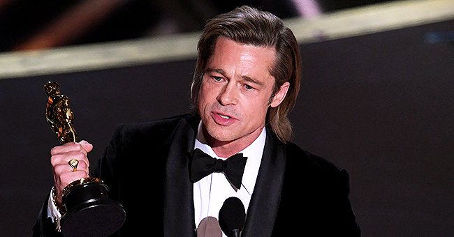 Brad Pitt Reportedly Needed to Catch His Breath after Winning First Acting Oscar for 'Once upon a Time in Hollywood'