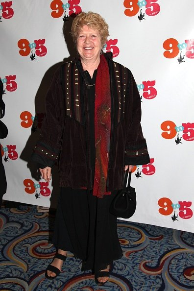 Peggy Pope at 9 to 5 Broadway Opening Arrivals at Marriott Marquis Theater on April 30, 2009 in New York City | Photo: Getty Images