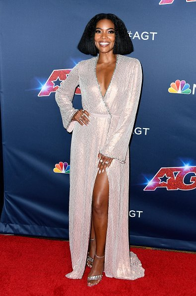 """Gabrielle Union at the """"America's Got Talent"""" Season 14 Finale Red Carpet on September 18, 2019 