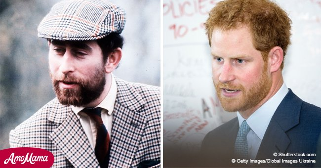 Photos prove that Prince Harry with a beard is just a young Prince Charles look-alike