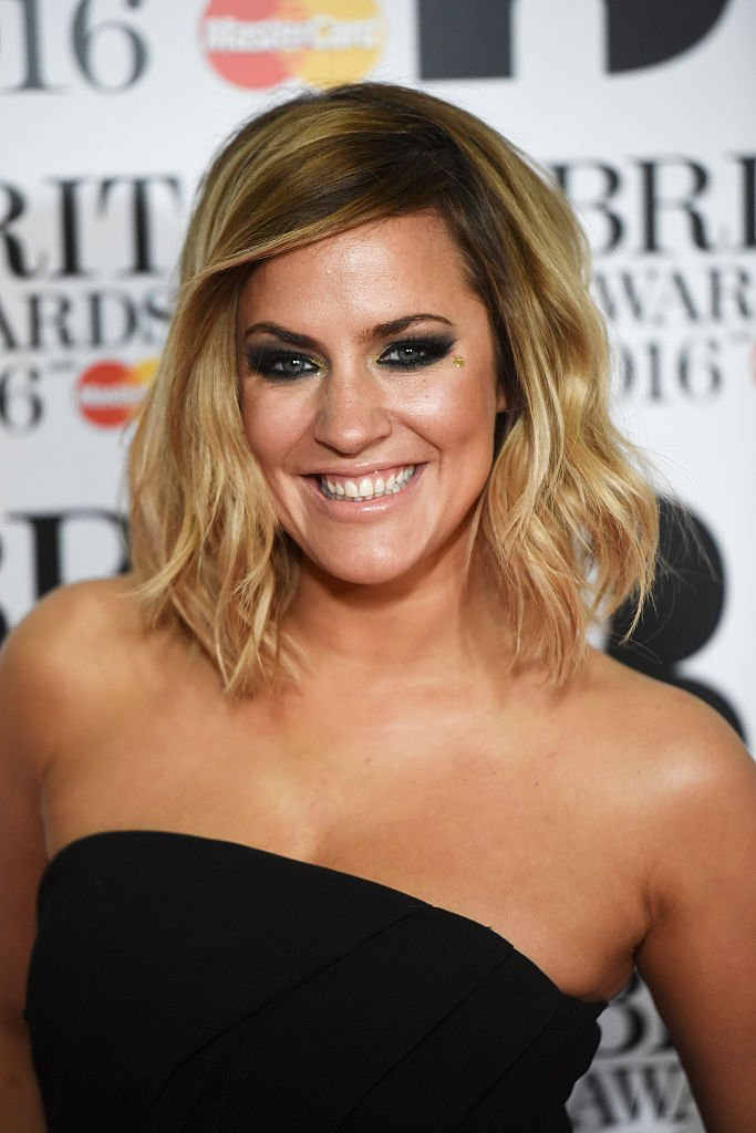 Caroline Flack attends the BRIT Awards 2016 at The O2 Arena on February 24, 2016 | Photo: GettyImages
