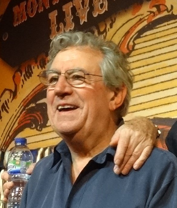 Terry Jones at the Monty Python troup reunion on July 2, 2014 | Photo: Wikimedia Commons