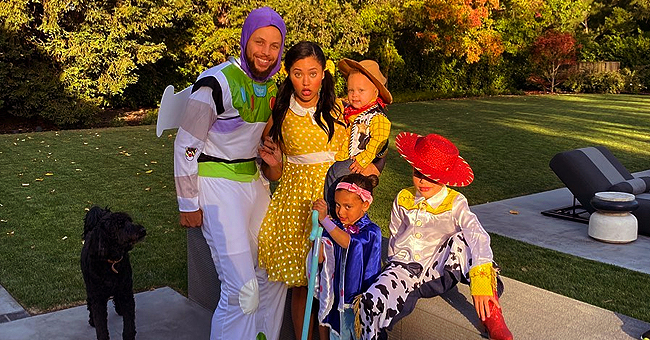 Steph, Ayesha Curry and Their 3 Kids Dressed up as 'Toy Story' Characters for Halloween