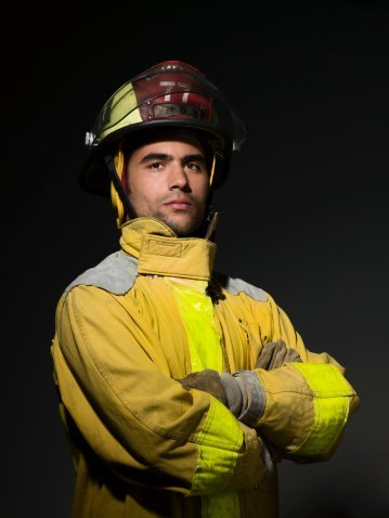 A fireman.| Photo: Getty Images.