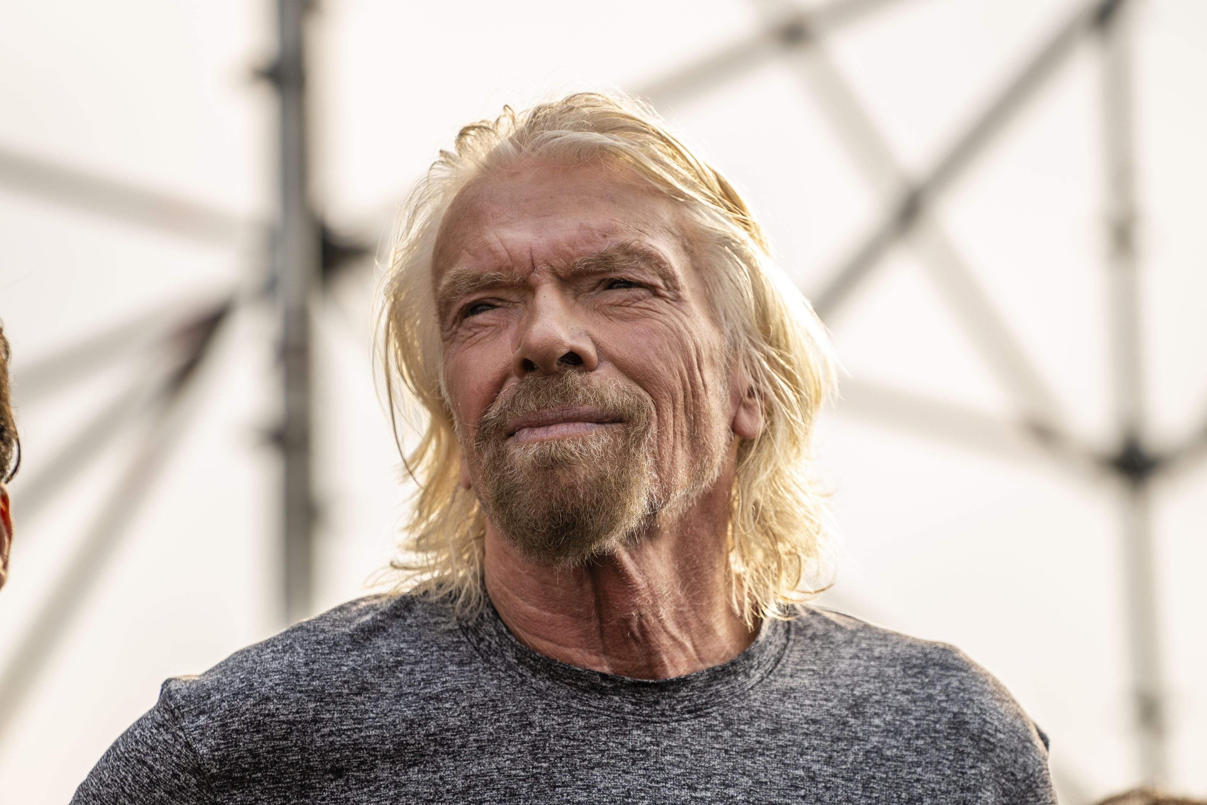 Richard Branson at a news conference on Friday, February 22, 2019 | Photo: Getty Images