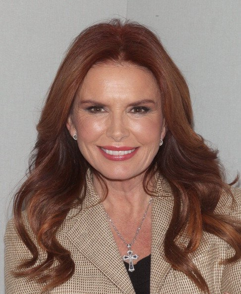 Roma Downey at Apple Store Soho on February 24, 2014 in New York City. | Photo: Getty Images