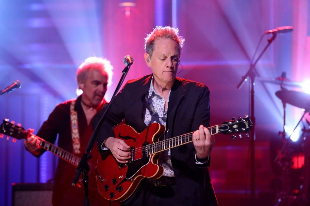 """Michael Bacon during a performance of """"Tom Petty T-Shirt"""" at """"The Tonight Show Starring Jimmy Fallon"""" on April 26, 2018 