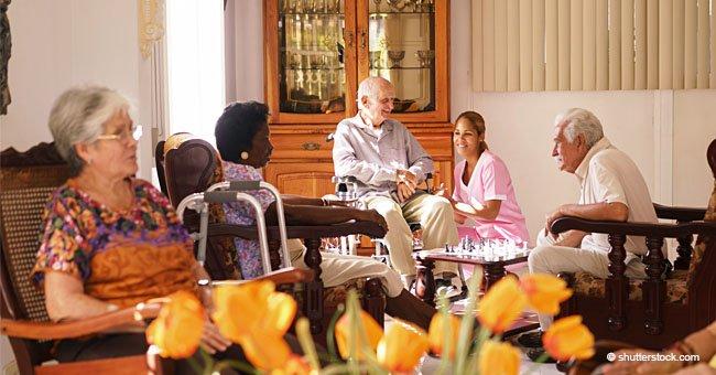 Premier jour à la maison de retraite