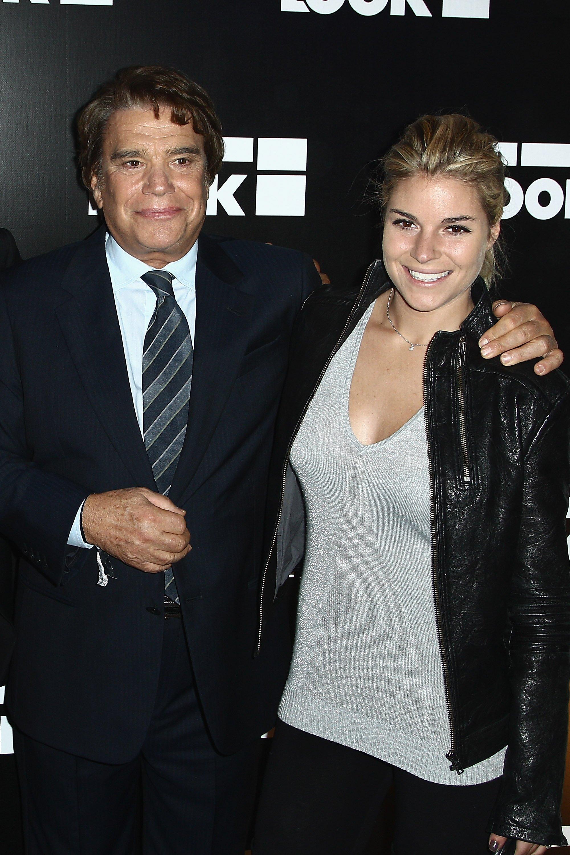 Bernard Tapie avec sa fille Sophie   Photo: Getty Images