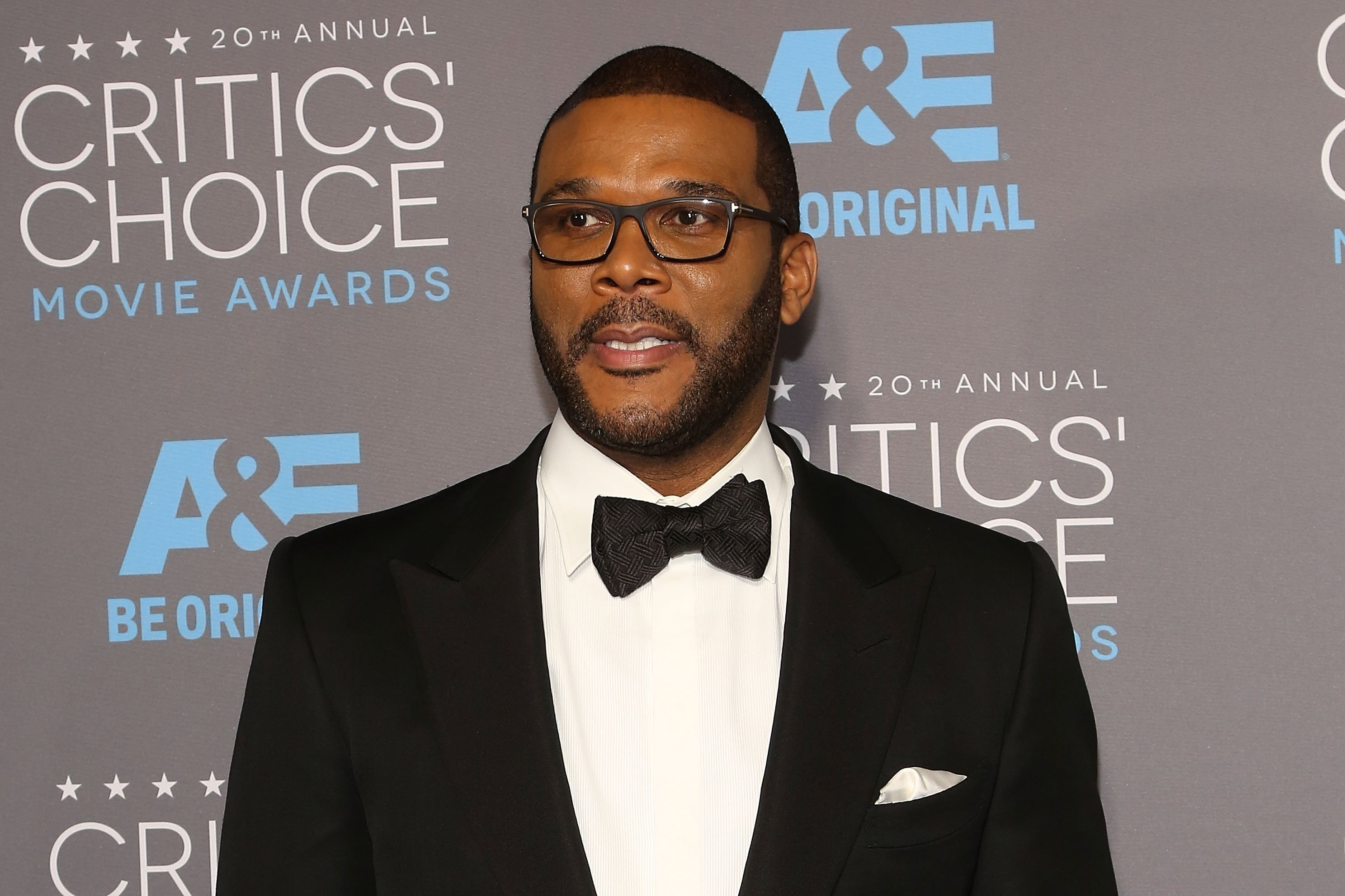 Tyler Perry at the 20th Annual Critics' Choice Movie Awards at Hollywood Palladium on January 15, 2015 in Los Angeles, California. | Source: Getty Images