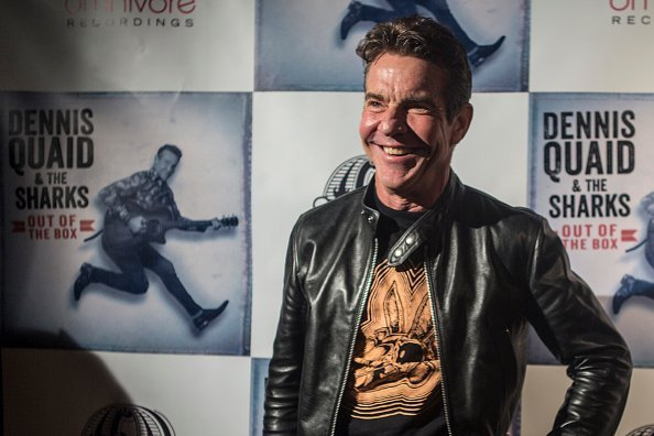 Dennis Quaid at the Dennis Quaid & The Sharks Album Release Party in Los Angeles, California | Photo: Getty Images