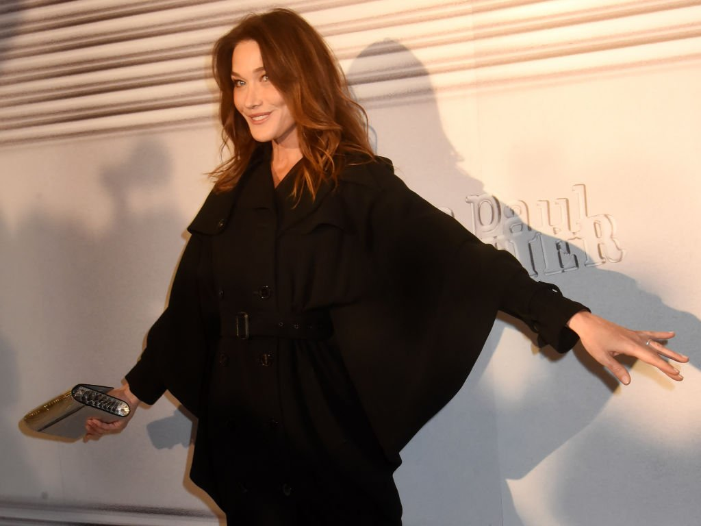 Le sourire de Carla Bruni. | Photo : Getty Images