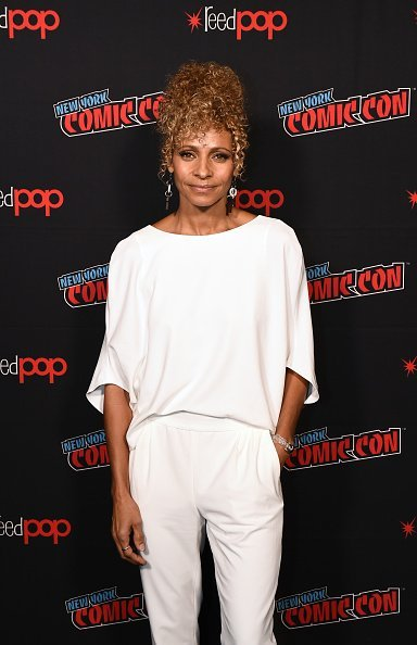 Michelle Hurd at the Hulu Theater at Madison Square Garden on October 05, 2019 | Photo: Getty Images