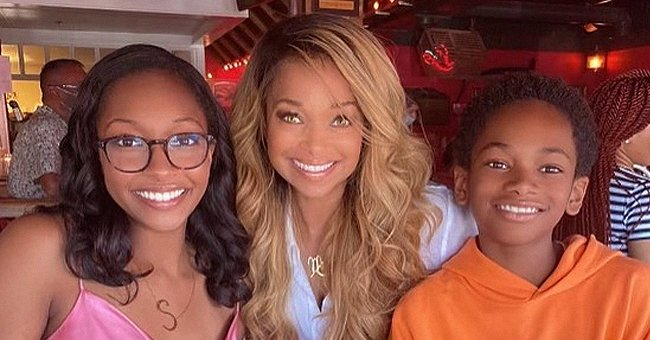 Pat Smith Enjoys Mom Time with Her Kids Whom She Shares with Estranged Husband Emmitt Smith