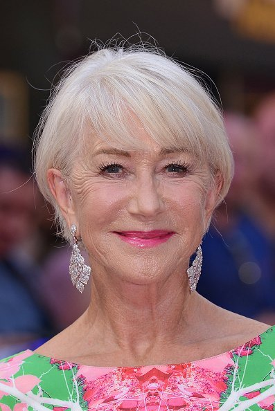 "Helen Mirren attends the ""Fast & Furious: Hobbs & Shaw"" Special Screening at The Curzon Mayfair on July 23, 2019, in London, England. 