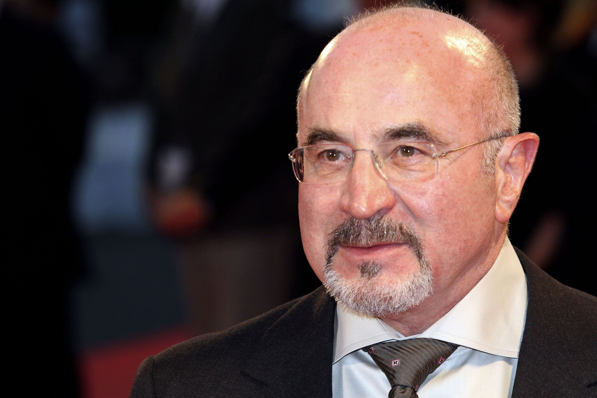 Bob Hoskins attends the Premiere of 'Hollywoodland' on the second day of the 63rd Venice Film Festival | Getty Images