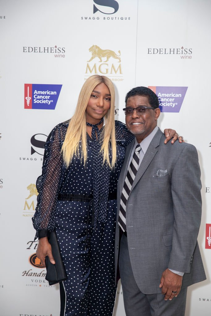 NeNe and Gregg Leakes celebrating the opening of another branch of SWAGG Retail Store in Maryland in May 2019. | Photo: Getty Images