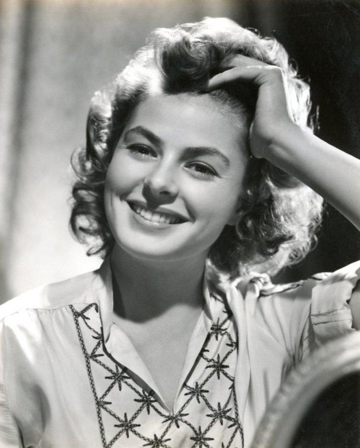 Ingrid Bergman, circa 1940s | Photo: Wikimedia Commons