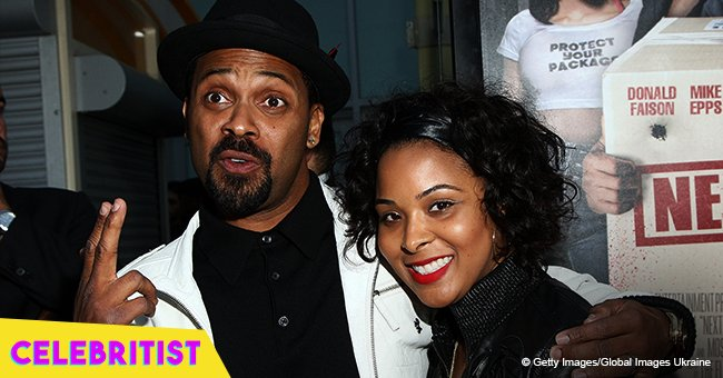 Mike Epps ex-wife stuns in red high heels and tight jeans at daughter's graduation day