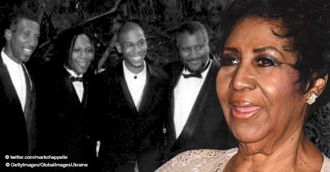Here Are Aretha Franklin's 4 Adult Sons Who Bear an Uncanny Resemblance to Their Mother